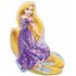 Princesse Rapunzel ballons mini mylar air vendu non gonflé avec tige