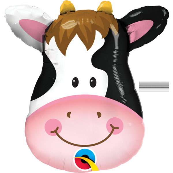 tête de vache 40cm avec tige vendu non gonflé